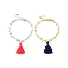 Under the stars tassel bracelet