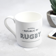 The People's Republic of Rugby Bone China Mug