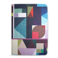 Kaku Geometric iPad Pro 9.7 Tablet Folio Case