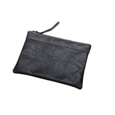 Xanthe handcrafted leather pouch (various colours)