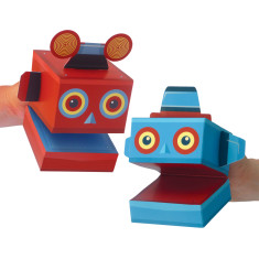 Create Your own Robot Puppets Kit