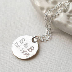 Personalised Love Established Necklace