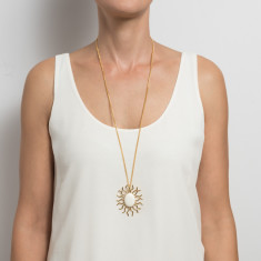 Marina bone pendant