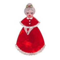 Erstwilder Mrs Claus brooch