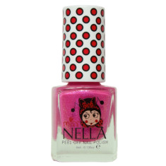 Peel off kids' nail polish in Tickle Me Pink (non toxic)