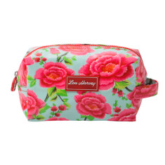 Box Cosmetic Bag in Alexandra Sage print