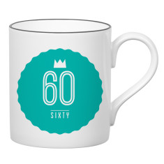Sixty birthday mug