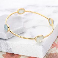 Candy gemstone bangle