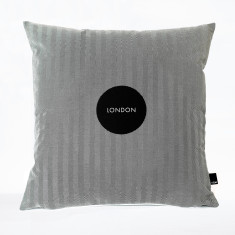 London bon voyage cushion cover