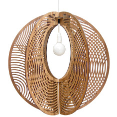 Hoop grandelier light