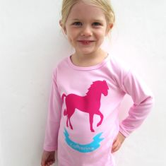Girls' personalised horse pyjamas