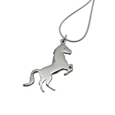 Horse sterling sliver necklace