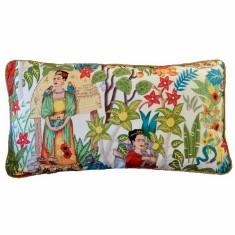Frida's garden cream long cushion