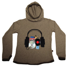 Music through the ages hoodie