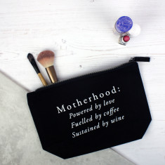 Motherhood mother's day makeup bag