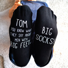 Personalised Big Feet - Big Socks