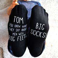 Personalised Big Feet - Big Socks