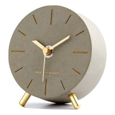 Angelo Concrete Bedside Clock