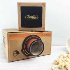 Smartphone Projector And Speaker Copper Gift Set