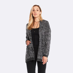Poppy Cardigan Black