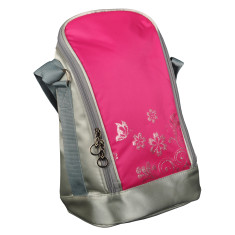 Insulated coffee & tea Bag in gelato pink