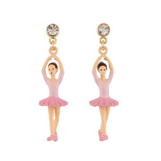 Pink Ballerina Earrings