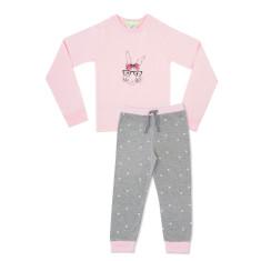 Girls fashion bunny PJ's
