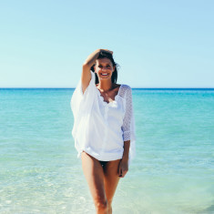 Honeymoon kaftan top