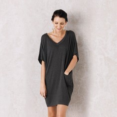 Bomba Tunic In Charcoal