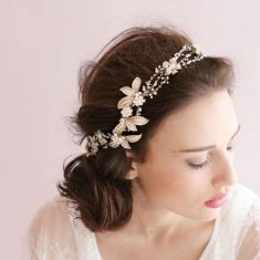 Romantic bride headband