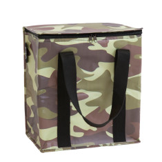 Insulated Cooler bag in Camo print