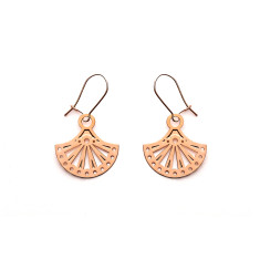 Rose Gold Allegra Earrings