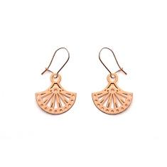 Rose Gold Allegra Earrings