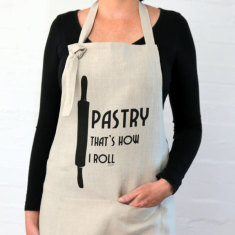 Pastry that's how I roll apron