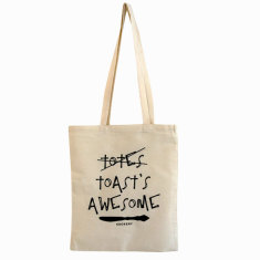 Toast's awesome tote bag