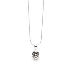 Brilliant CZ pendant on chain