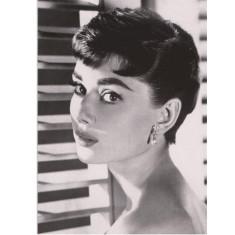 Audrey Hepburn shutters vintage poster print