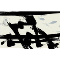 Abstract print by Franz Kline