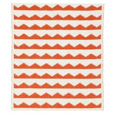 Brita Sweden Gittan door mat/bath mat (available in black, orange and aqua)
