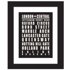 London Central line - Print