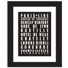 Paris line 1 - print