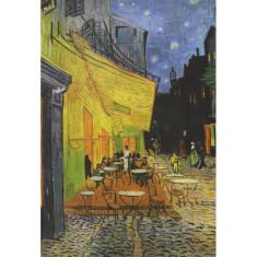 Place du Forum Vintage poster print by Van Gogh