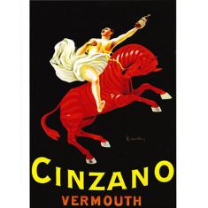 Cinzano Red Zebra vintage poster print by Leonetto Cappiello
