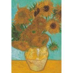 Sunflowers vintage poster print by Van Gogh