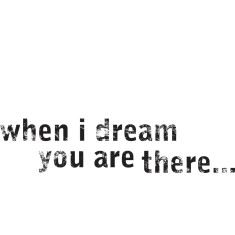 When I Dream artwork