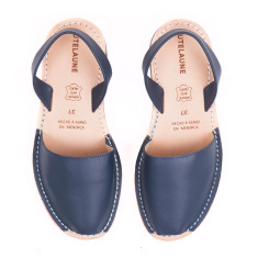Navy Avarcas Sandals