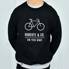 On Yer Bike Personalised Adventure Men's Sweatshirt