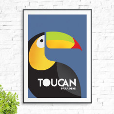Toucan paradise print