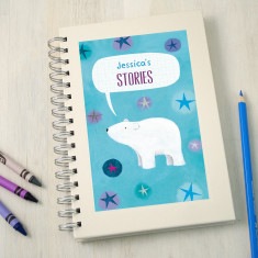 Personalised Kids' Christmas Notebook