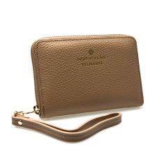 Hudson phone wallet in beige